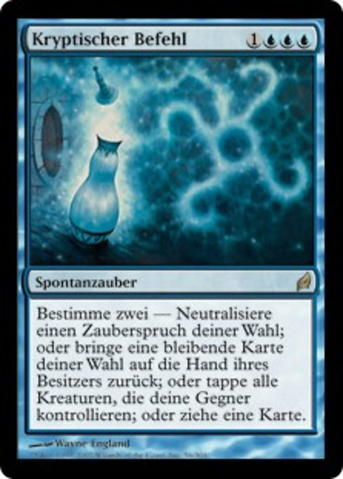 Cryptic Command (LRW)