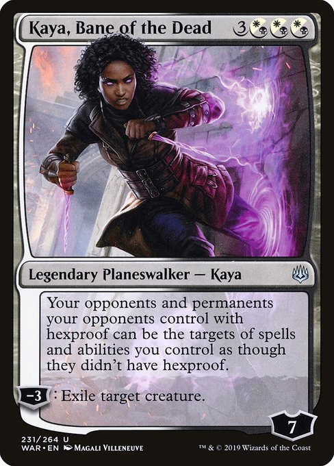 Kaya, Bane of the Dead (WAR)