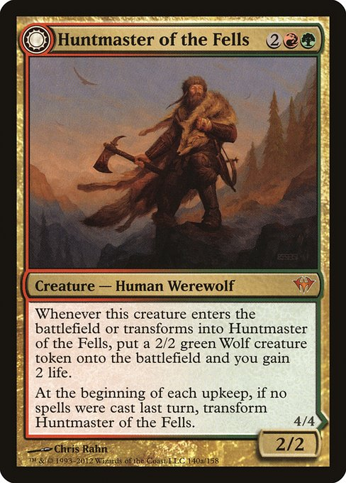 Huntmaster of the Fells // Ravager of the Fells (DKA)