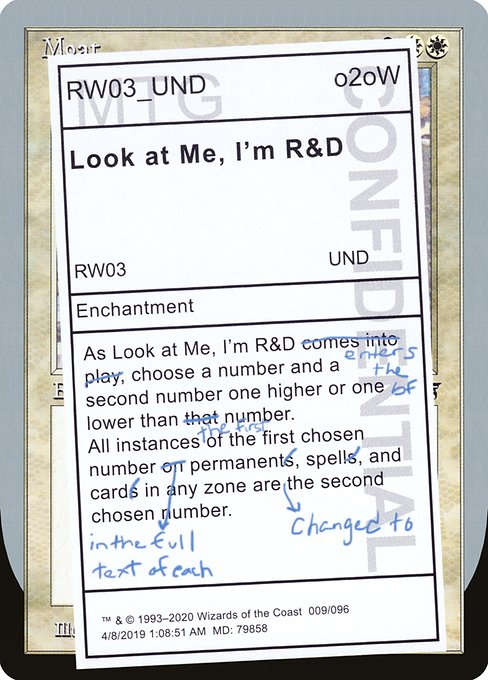 Look at Me, I'm R&D (UND)