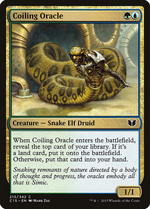 Coiling Oracle (C15)