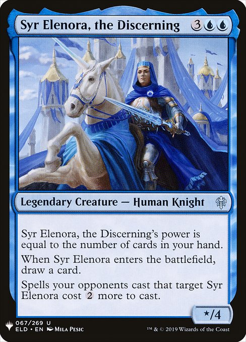 Syr Elenora, the Discerning (MB1)