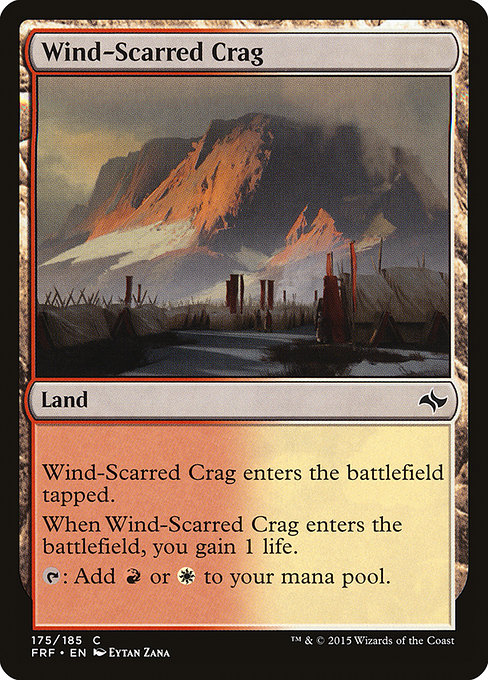 Wind-Scarred Crag (FRF)