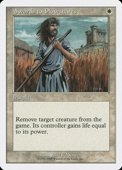 Swords to Plowshares (BRB)