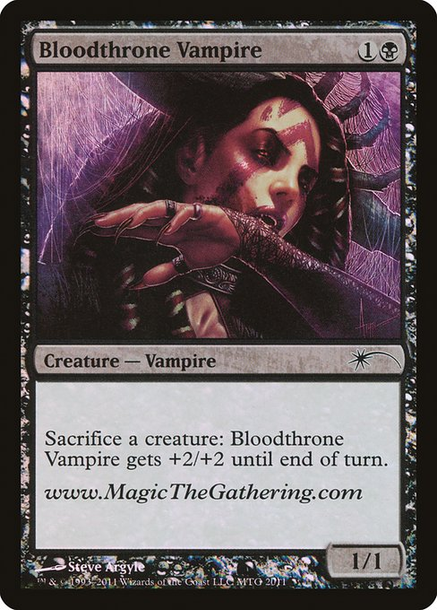 Bloodthrone Vampire (PURL)