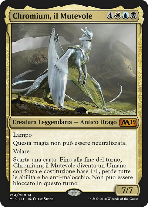 Chromium, the Mutable (M19)