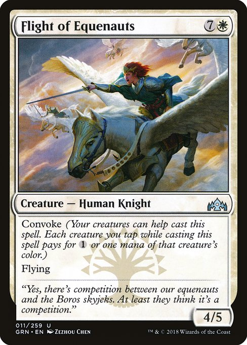Flight of Equenauts (GRN)