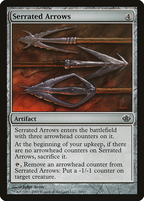 Serrated Arrows (DDD)