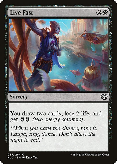 Live Fast - Magic: the Gathering