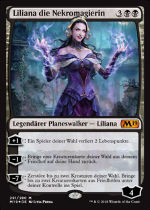 Liliana, the Necromancer (M19)