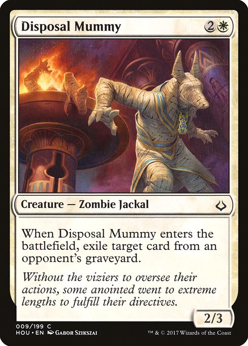 Disposal Mummy (HOU)