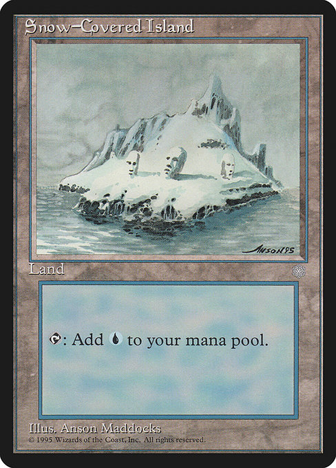 Snow-Covered Island (ICE)