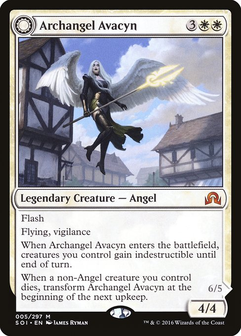 Archangel Avacyn // Avacyn, the Purifier (SOI)