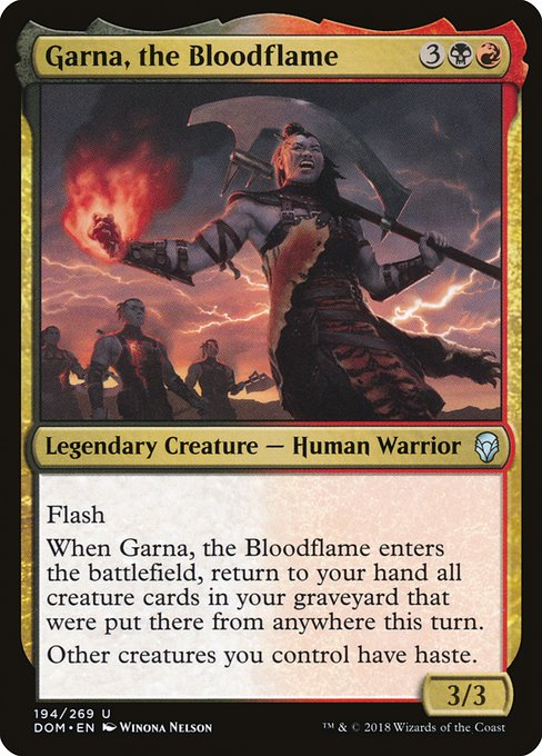 Garna, the Bloodflame (DOM)
