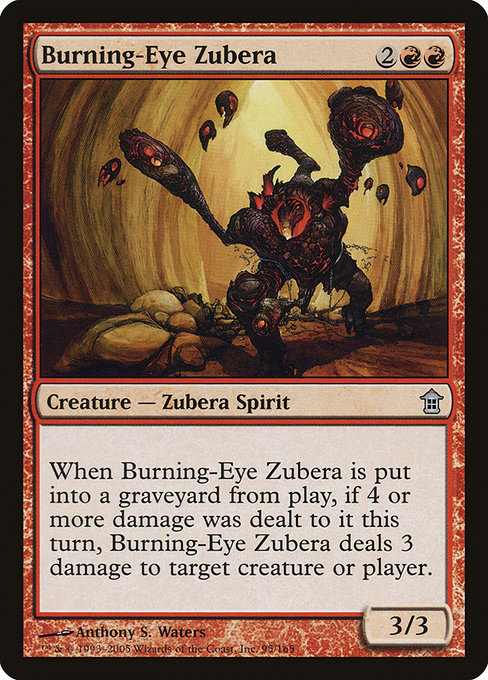 Burning-Eye Zubera (SOK)