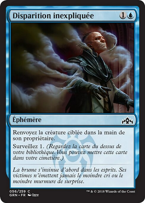 Unexplained Disappearance (GRN)