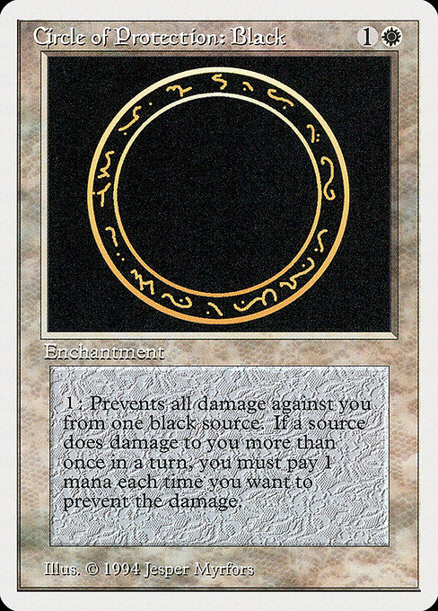 Circle of Protection: Black (SUM)