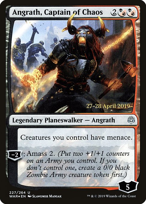 Angrath, Captain of Chaos (PWAR)