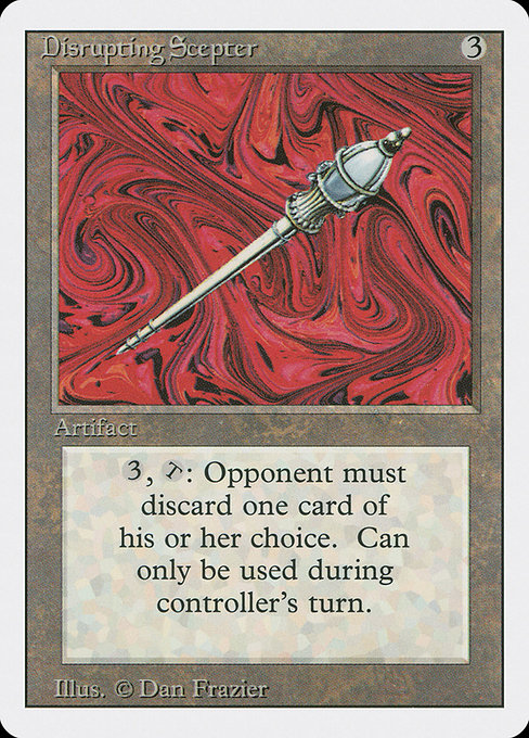 Disrupting Scepter (3ED)