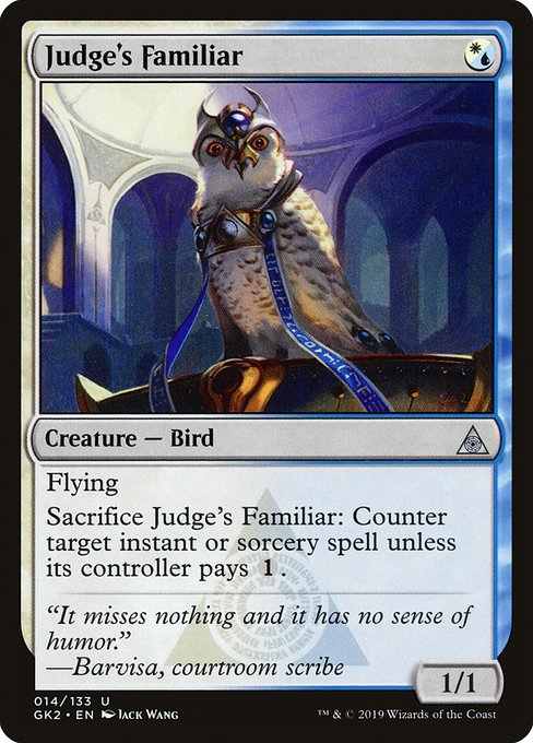 Judge's Familiar (GK2)