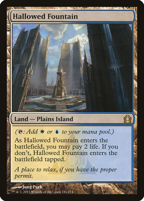 Hallowed Fountain (RTR)