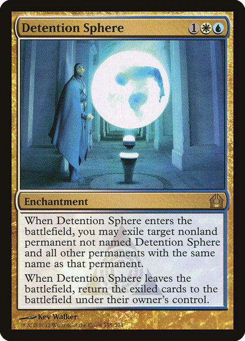 Detention Sphere - Magic: the Gathering