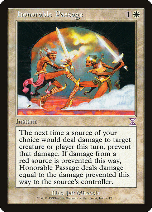 Honorable Passage (TSB)