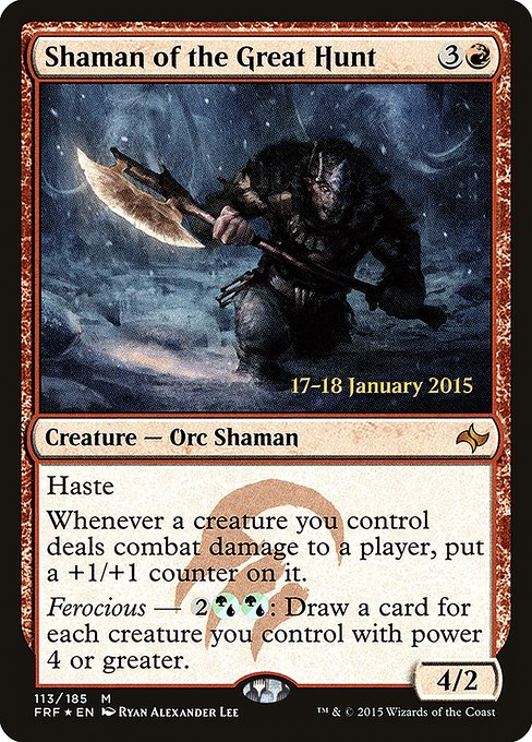 Shaman of the Great Hunt (PFRF)