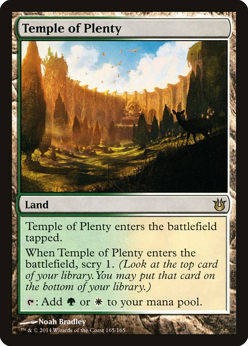 Temple of Plenty (BNG)