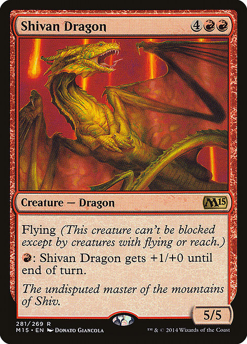 Shivan Dragon (M15)
