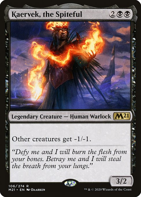 Kaervek, the Spiteful (M21)