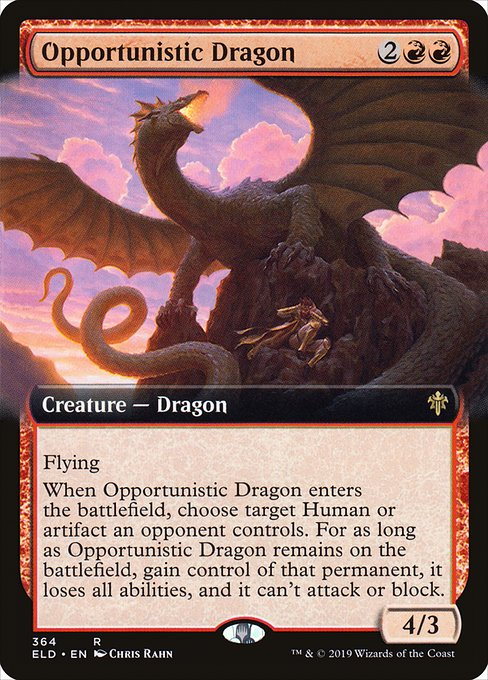 Opportunistic Dragon (ELD)