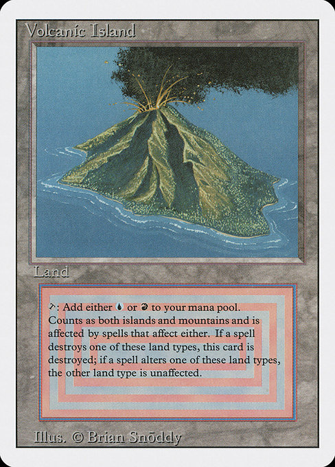 Volcanic Island - Revised Edition