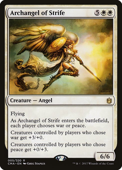 Archangel of Strife (CMA)