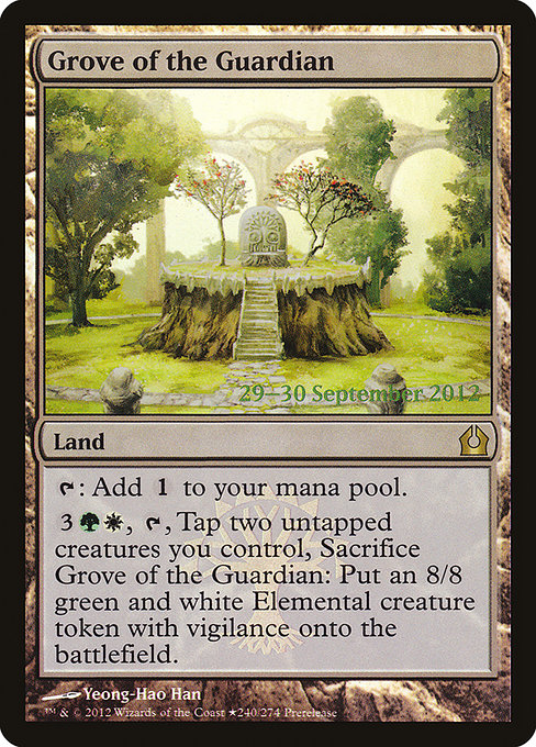 Grove of the Guardian (PRTR)