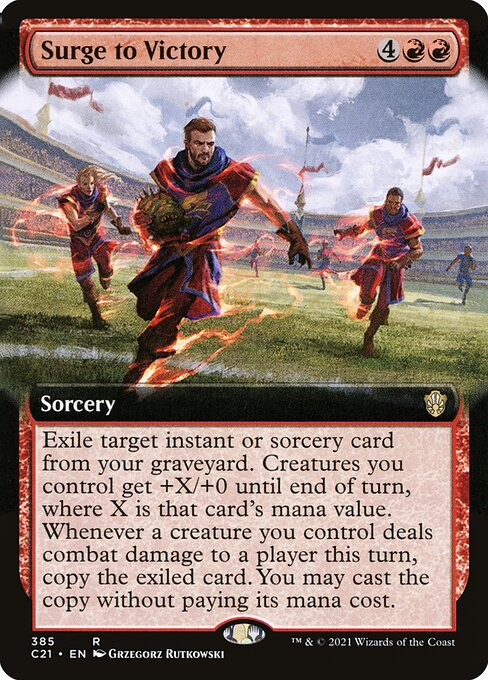 Surge to Victory (C21)