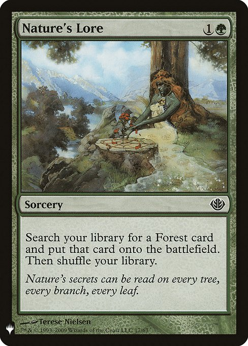 Nature's Lore (MB1)