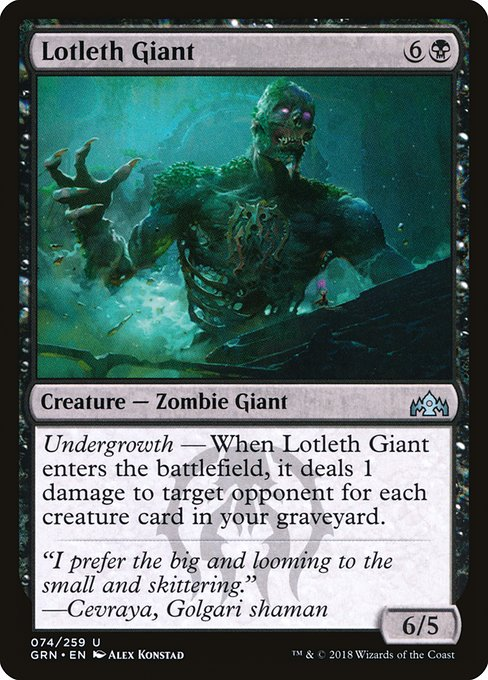 Lotleth Giant (GRN)
