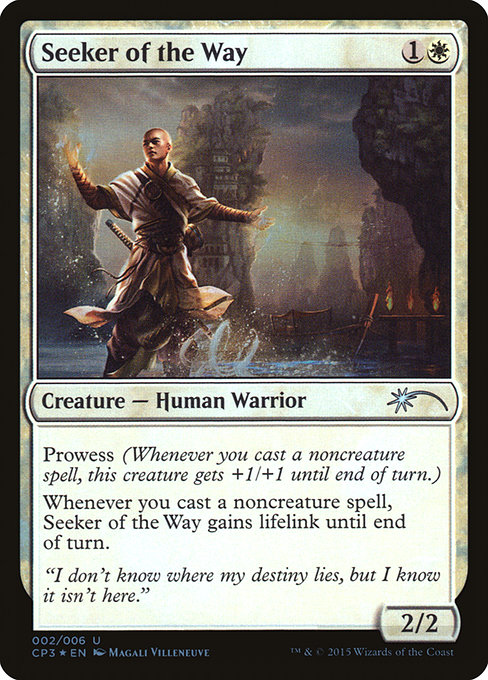 Seeker of the Way (CP3)