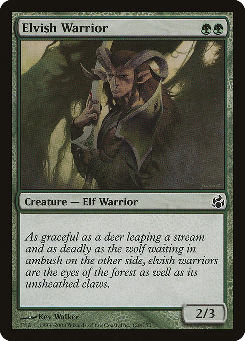 Elvish Warrior (MOR)