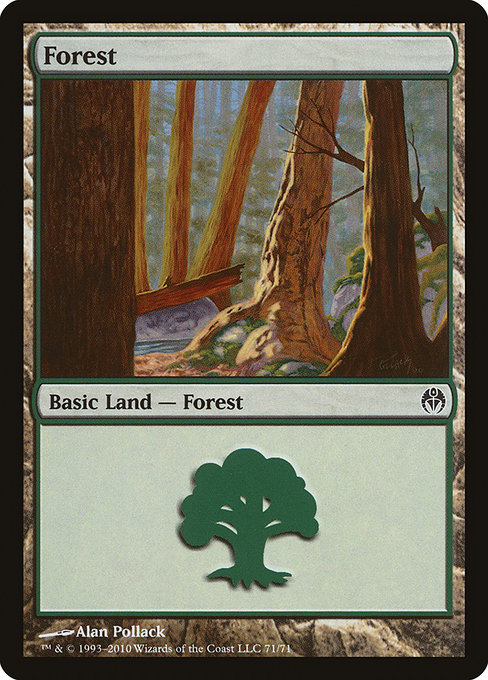 Forest - Duel Decks: Phyrexia vs. the Coalition