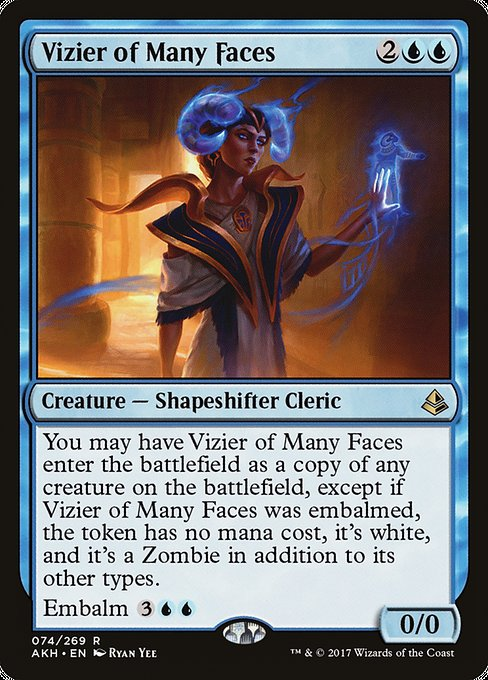 Vizier of Many Faces (AKH)