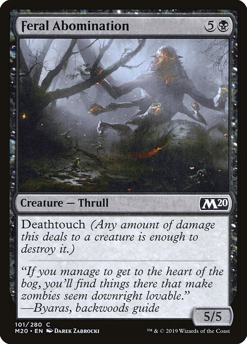 Feral Abomination (M20)