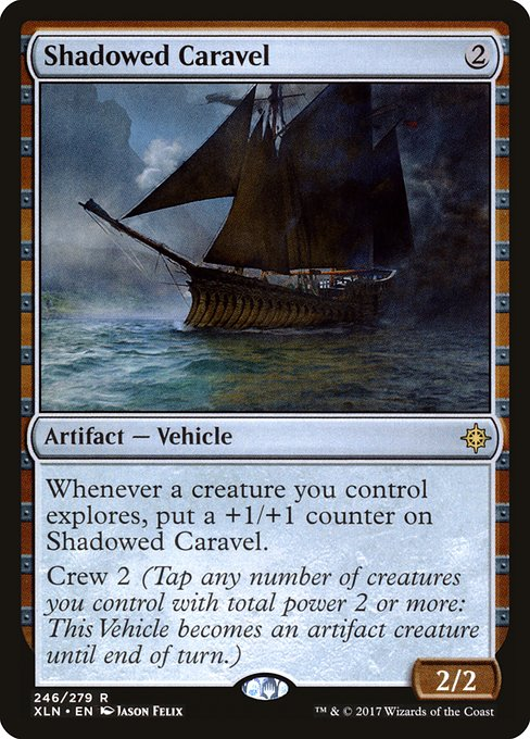 Shadowed Caravel (XLN)