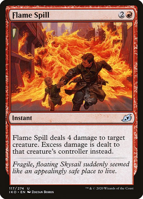 Flame Spill (IKO)