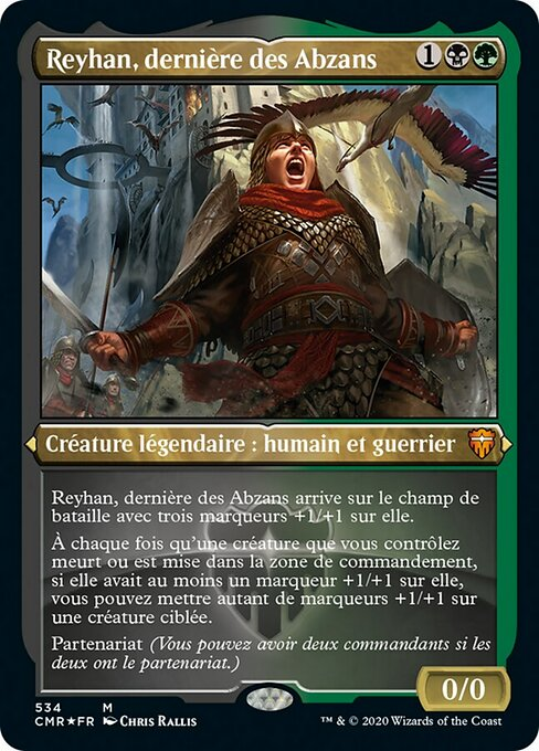Reyhan, Last of the Abzan (CMR)
