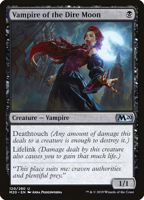 Vampire of the Dire Moon (M20)