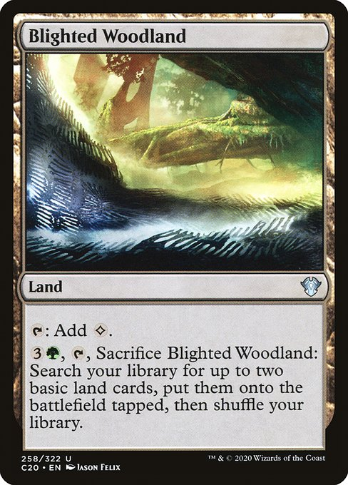 Blighted Woodland (C20)