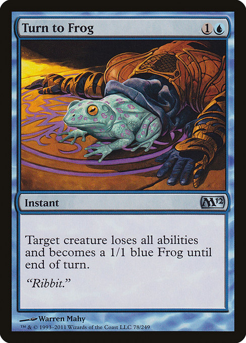 Turn to Frog (M12)