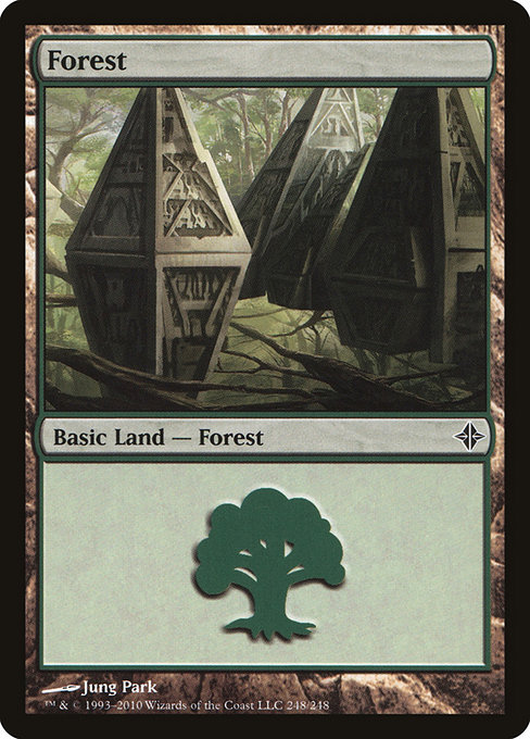 Forest - Rise of the Eldrazi